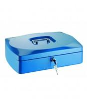 Pokladnička modrá 330x235x90mm