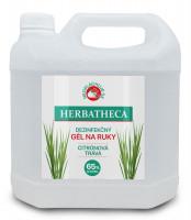 Dezinfekčný gél na ruky Herbatheca, 3l