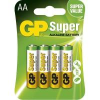 Batéria alkalická AA 1,5V LR6 GP15A /4ks