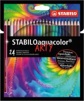 Pastelky STABILO Aquacolor ARTY 24 ks