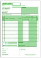Dodací list A5 s DPH - samoprepis - SBK69