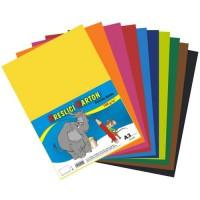 Školský kartón A3 125g mix 5x10farieb 50ks
