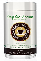 Káva Organic Moka Grind 250g, mletá v dóze