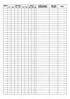 Prevádzkový denník plynovej kotolne, A4, 60 listov,   (IGAZ 27)
