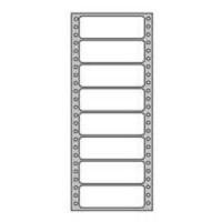 Etikety tabelačné 88,9x36mm 1-radové/500 hárkov