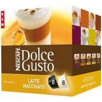 Kapsule DOLCE GUSTO Latte Macchiato 194 g/16 kapsúl