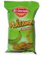 Banánové lupienky (Platanos), slané 100g