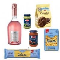 Balíček Víno+Mulino Bianco+ Voiello+ Barilla