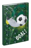 BAAGL Dosky na školské zošity A4 Futbal goal