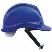 Ochranná prilba Manutan CLASSIC, 6-bodová, modrá