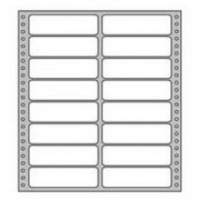 Etikety tabelačné 102x36,1mm 2-radové/250 hárkov
