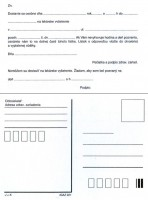 Predvolanie na lekárske vyšetrenie, A6,    (IGAZ 221)