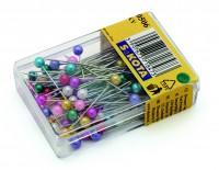 Špendlíky  506 nikel - plast, 37 mm
