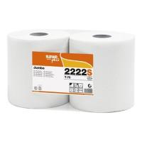 Toaletný papier Jumbo 26 cm SAVE, 2vr. 300m, biely