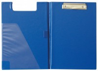 Doska s klipom A4 dvojitá PVC modrá