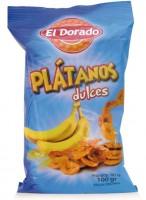 Banánové lupienky (Platanos), sladké 100g
