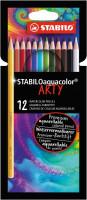 Pastelky STABILO Aquacolor ARTY 12 ks