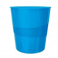 Kôš na odpadky Leitz WOW 15l modrý