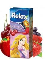 Džús Relax 0,2L jablko, višňa, jahoda