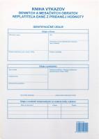 Kniha výkazov pre neplatiteľov DPH, A4,    (SUBAKO 35)