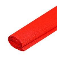 Krepový papier červený