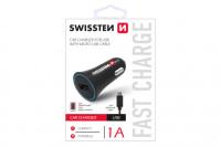 Swissten CL Adapter na USB 1A power+kabel micro USB