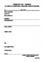 Výmenný list - poukaz, A6, 100 listov,   (IGAZ 202)