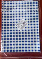 Obrus 650x500 PVC modré káro