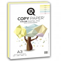 Kopírovací papier A3 80g R-copy Color pastel 5far/200hár
