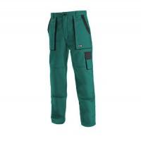 Dámske montérkové nohavice CXS, zelené/čierne, 44