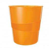 Kôš na odpadky Leitz WOW 15l oranžový