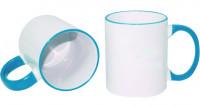Ceramic design, 0031 - biela/modrá svetlá